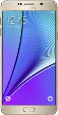 Samsung galaxy note 5 front small