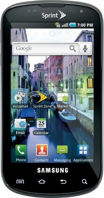Samsung epic 4g front small