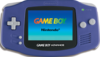 Nintendo Game Boy Advance portable game console