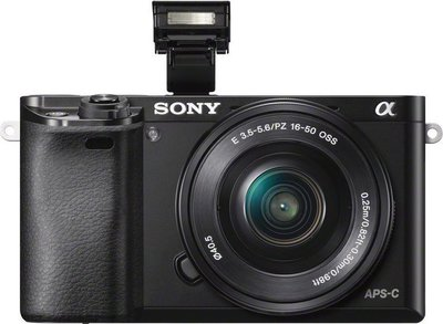 Sony alpha a6000 front small
