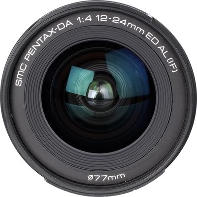 Pentax smc DA 12-24mm F4.0 ED AL (IF) lens