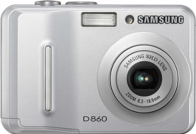 Samsung d860 front small
