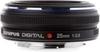 Olympus Zuiko Digital 25mm 1:2.8 Pancake lens top