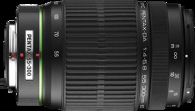 Pentax smc DA 55-300mm F4.0-5.8 ED lens