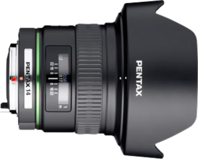 Pentax smc DA 14mm F2.8 ED (IF) lens