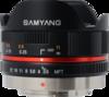 Samyang 7.5mm F3.5 UMC Fisheye MFT lens
