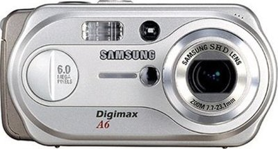 Samsung Digimax A6 digital camera