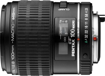 Pentax smc D-FA 100mm F2.8 macro lens