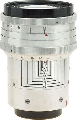 Carl zeiss jena biotar 75mm f1 5 version 1 right small